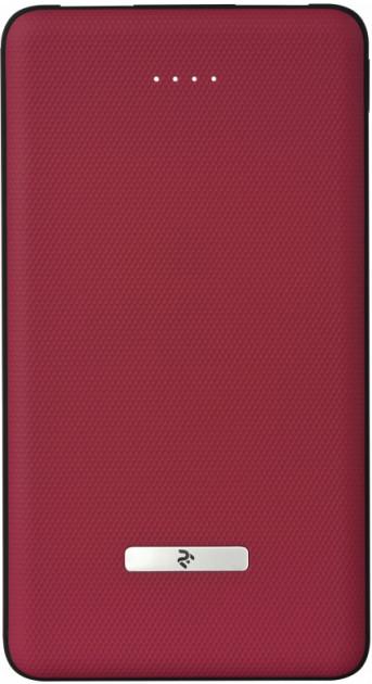 Купить Внешние аккумуляторы (Power Bank), Внешний аккумулятор (Power Bank) 2E Power Bank 10000mAh Sota Slim Red (2E-PB1007AS-RED)