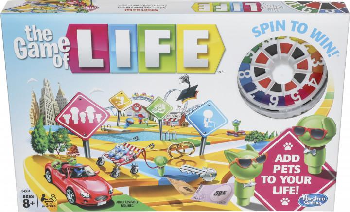 Купить Настольные игры, Настольная игра Hasbro Игра в жизнь (E4304), Ирландия