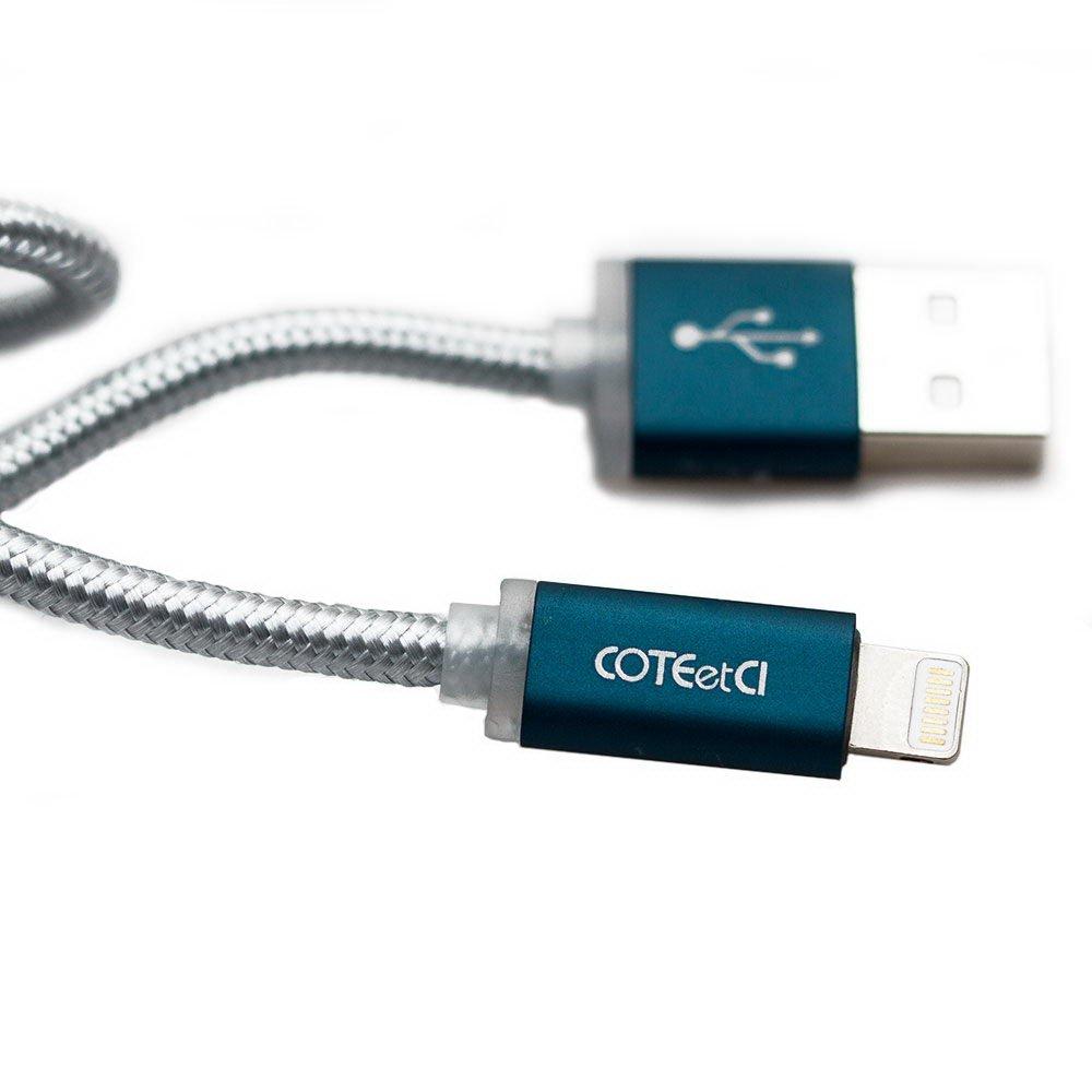 Купить Кабели для телефонов, Кабель Lightning для iPhone/iPad/iPod - Coteetci M30i 1.2м, чёрный (CS2127-1.2M-GC)