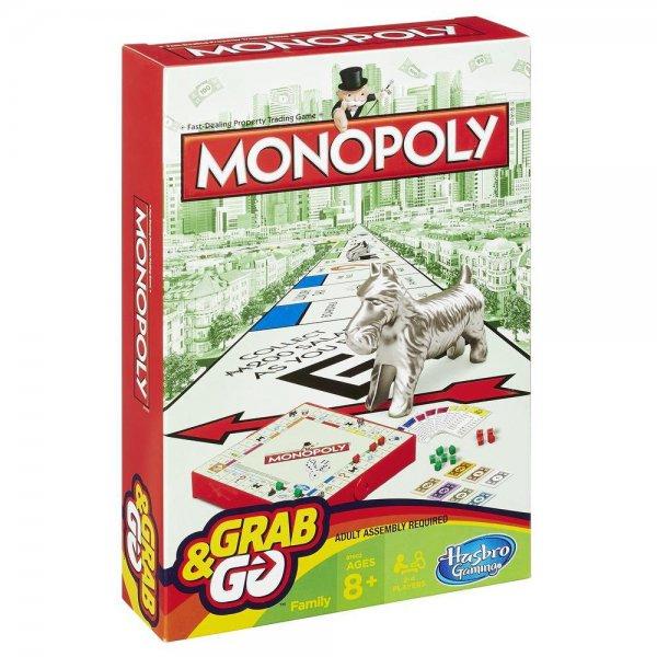 Дорожная игра Hasbro Games Монополия на русском языке (B1002)