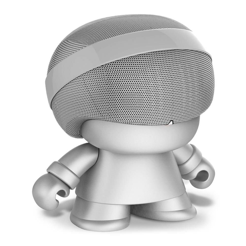 Купить Портативная акустика, Портативная колонка Xoopar Grand Xboy Led серебристая 20 см (XBOY31009.12R), Китай