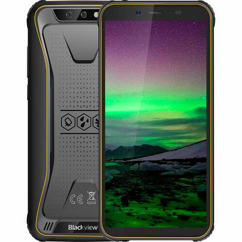 Смартфон Blackview BV5500 2/16GB DUALSIM Yellow OFFICIAL UA