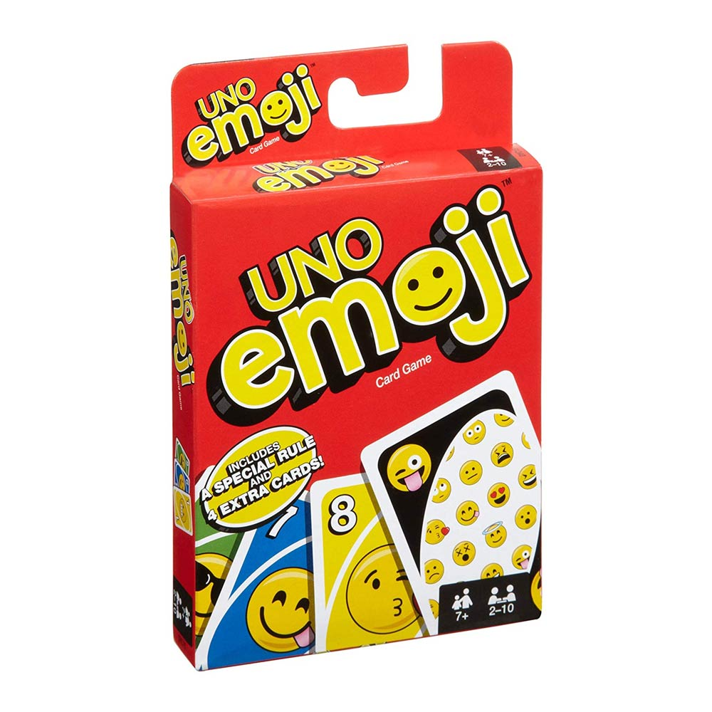 Настольные игры, Карточная игра UNO Смайлы (DYC15), Китай  - купить со скидкой
