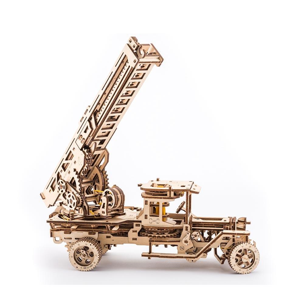Механический 3D пазл UGEARS Пожарная машина (70022)