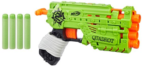 Купить Игрушечное оружие, Бластер Hasbro Nerf Zombie Страйк Квадрот (E2673), Китай