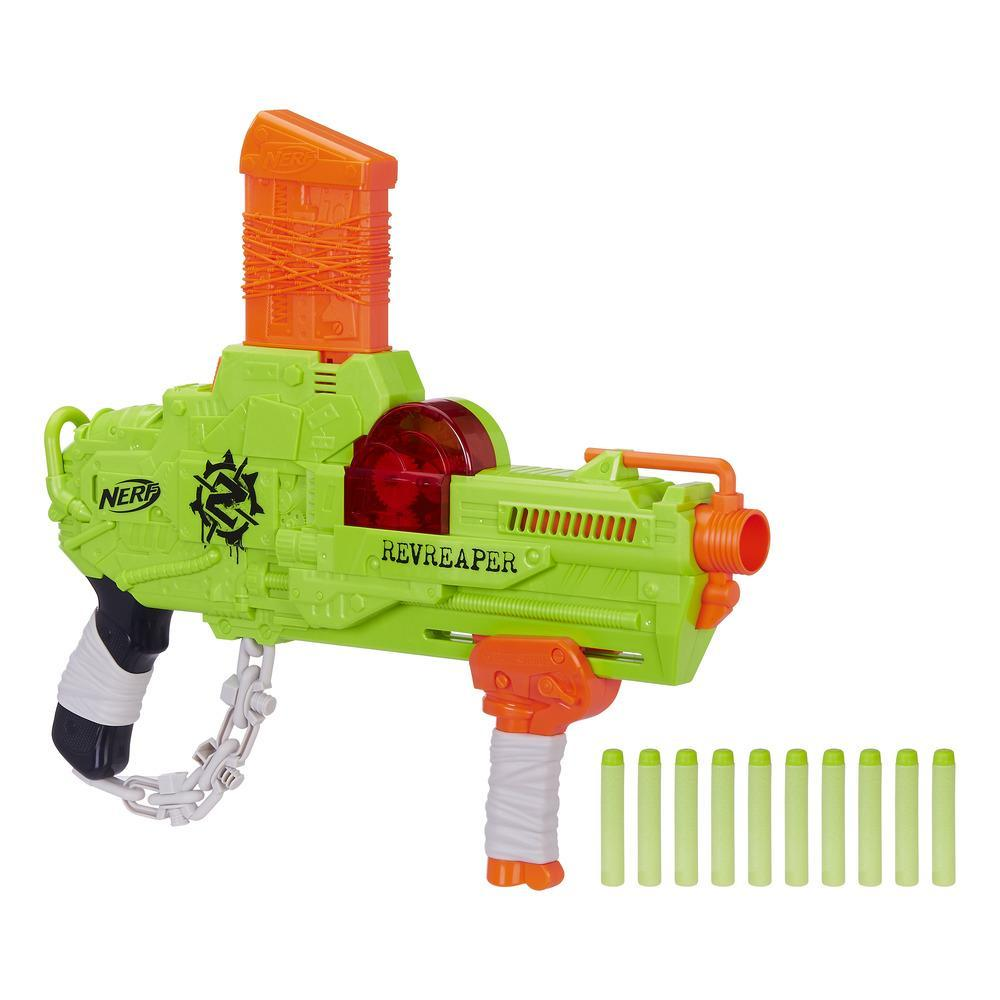 Купить Игрушечное оружие, Бластер Hasbro Nerf Zombie Strike Реврипер (E0311), Китай