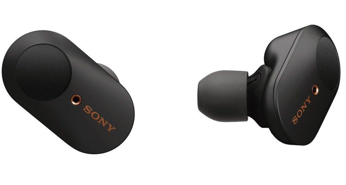 Купить Наушники, гарнитуры, Наушники Bluetooth Sony WF-1000XM3 Black